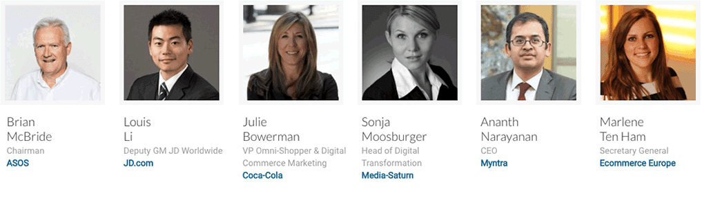 Sprekers Global e-commerce summit