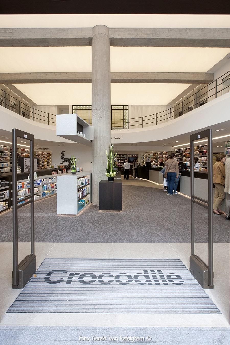 Apotheek, sanotheek én museum: het nieuwe Crocodile