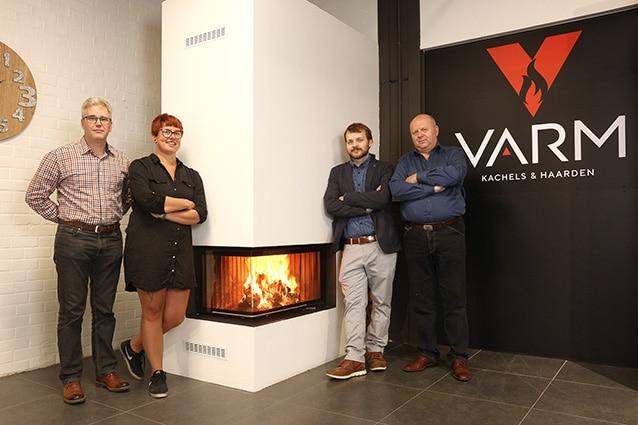 Het team van Varm