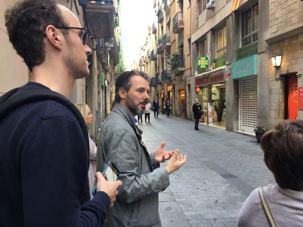 Steven Bollé op retail tour in Barcelona